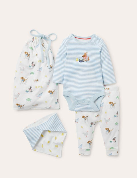 Organic Farm Newborn Set