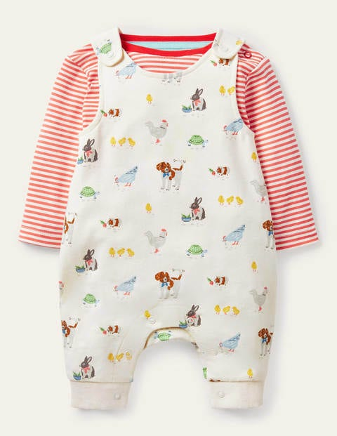 Organic Pets Dungaree Set