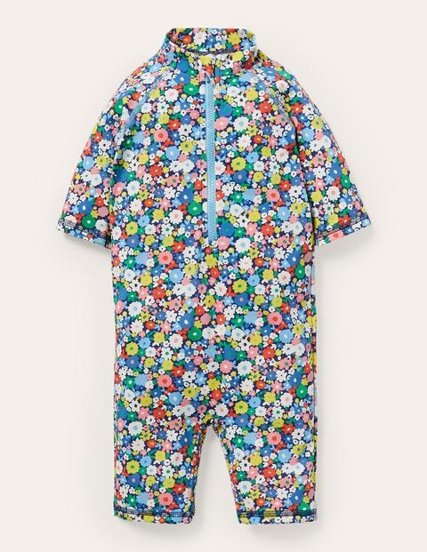 Sun-safe Surf Suit - Firecracker Flowerpatch