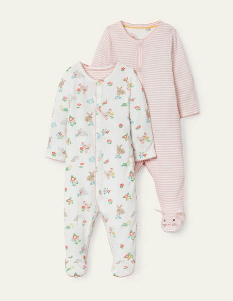 Organic Twin Pack Sleepsuit