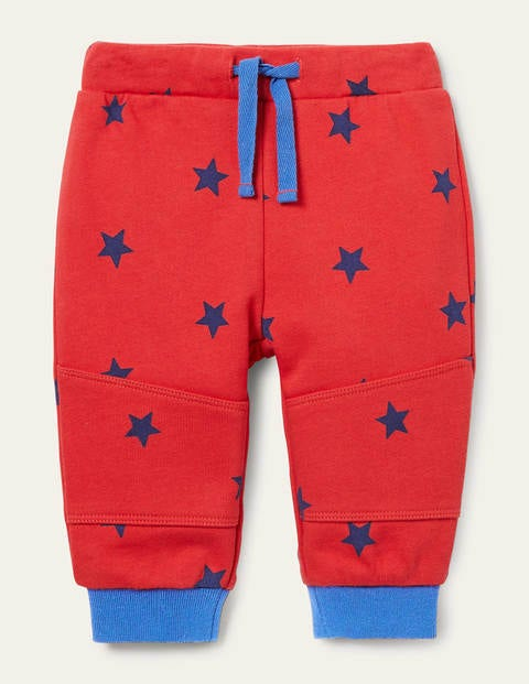 Warrior Knee Jersey Bottoms - Cherry Tomato Stars