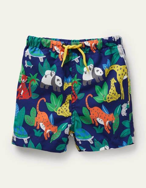 Fun Swim Trunks - Starboard Blue Jungle
