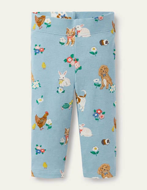 Printed Leggings - Multi Floral Pets