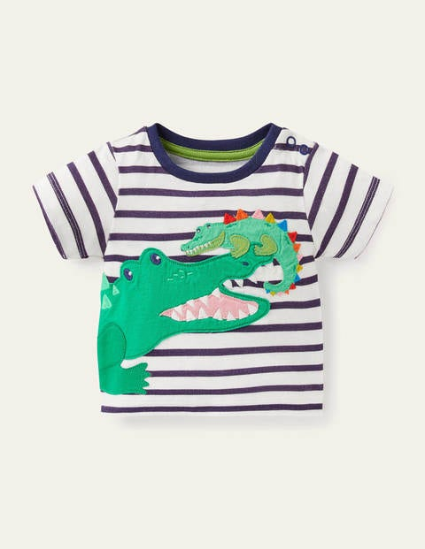 Appliqué Animals T-shirt