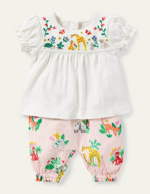 Embroidered Woven Play Set