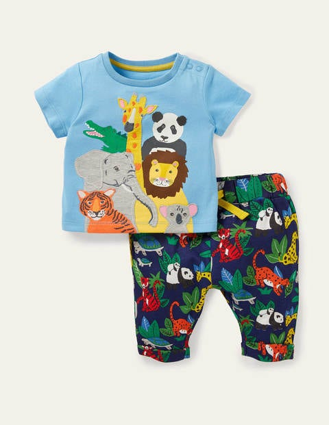 Fun Jersey Play Set - Starboard Blue Jungle