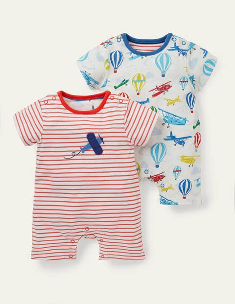 Planes Twin Pack Rompers