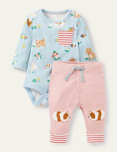 Guinea Pig Body & Leggings Set