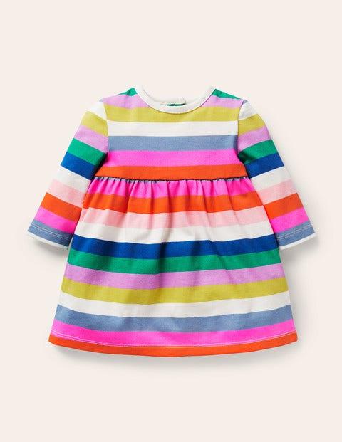 Fun Rainbow Jersey Dress