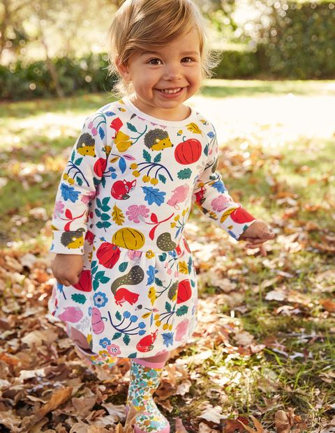 Bequemes Sweatshirt-Kleid