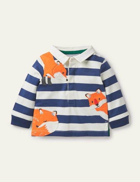 Peeking-in Fox Rugby T-Shirt