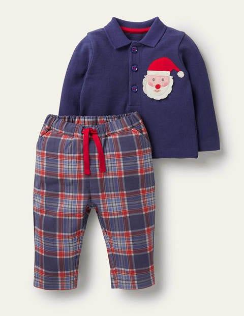 Christmas Polo Shirt Set
