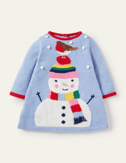 Festive Knitted Dress