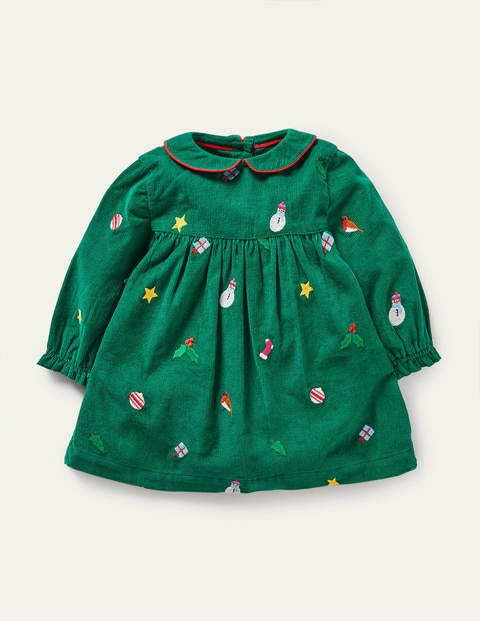 Festive Embroidered Dress
