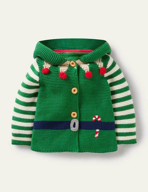 Weihnachtsjacke mit Kapuze