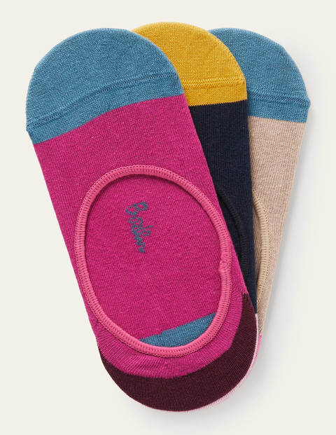 Three Pack Secret Socks
