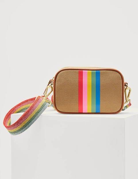 Olivia Canvas Crossbody Bag