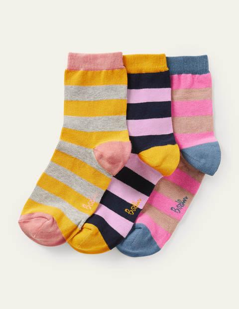 Three Pack Ankle Socks