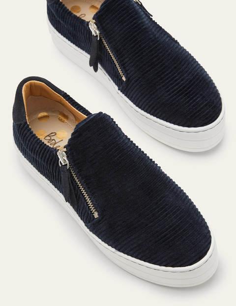 Zip Flatform Sneakers
