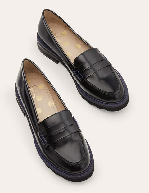 Chunky Penny Loafers