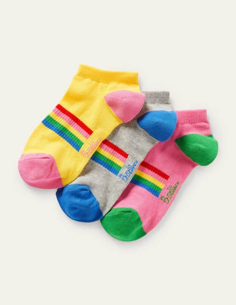 Three Pack Trainer Socks