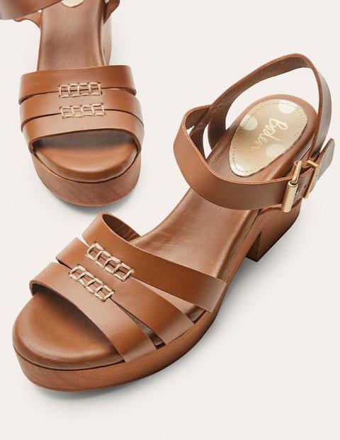 Heeled Sandal Clogs