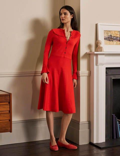 Abercorn Strickkleid RED Damen Boden, RED