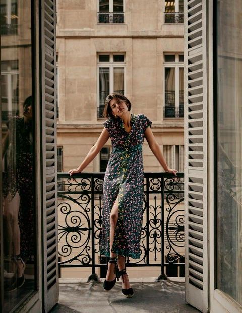 Sleeveless Shirt Midi Dress