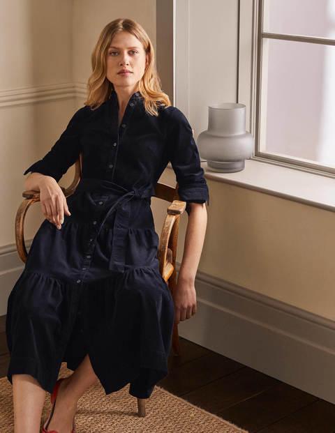 Ellen Tiered Shirt Dress
