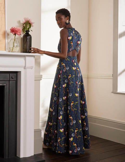 Back Detail Maxi Dress