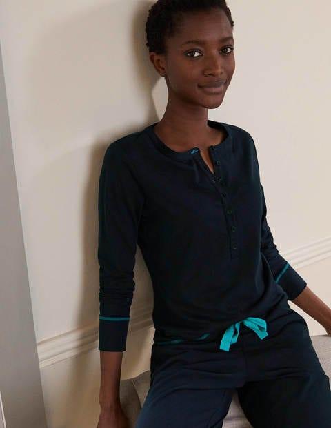 Alba Jersey Pyjama Top