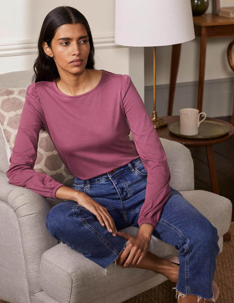 Supersoft Long Sleeve Tee - Figgy Pudding