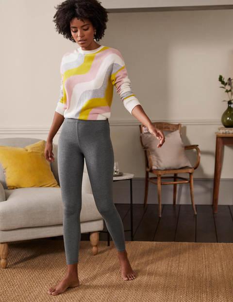 High Rise Charcoal Jersey Leggings