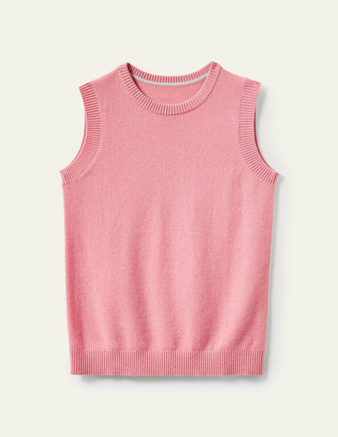 Cashmere Knitted Tank Top