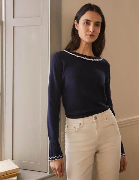 Aimee Pointelle Sweater