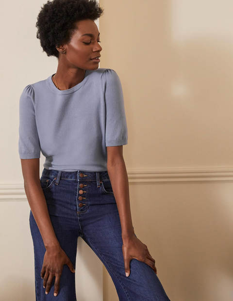 Cotton Crew Knitted Top