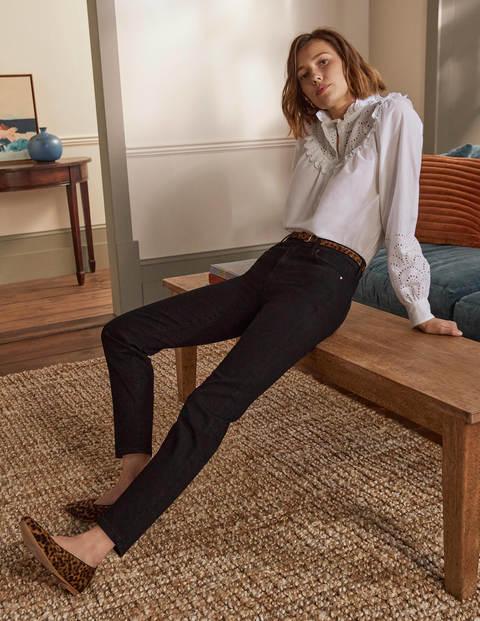 Slim Straight Ankle Skimmers