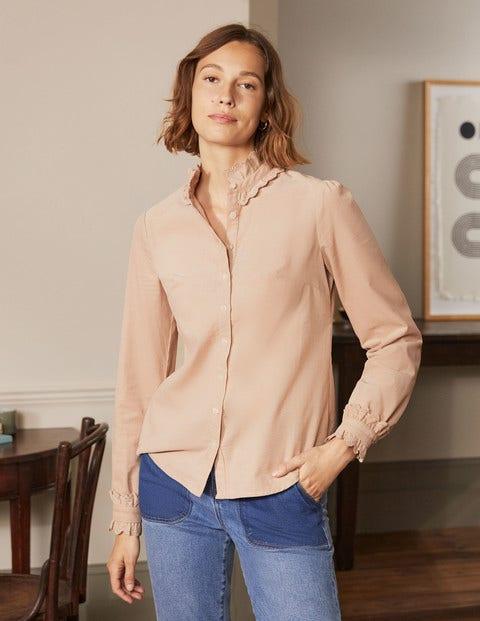 Eliza Broderie Shirt