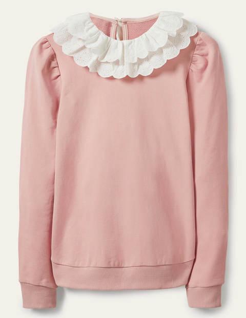 Hattie Sweatshirt mit Kragen