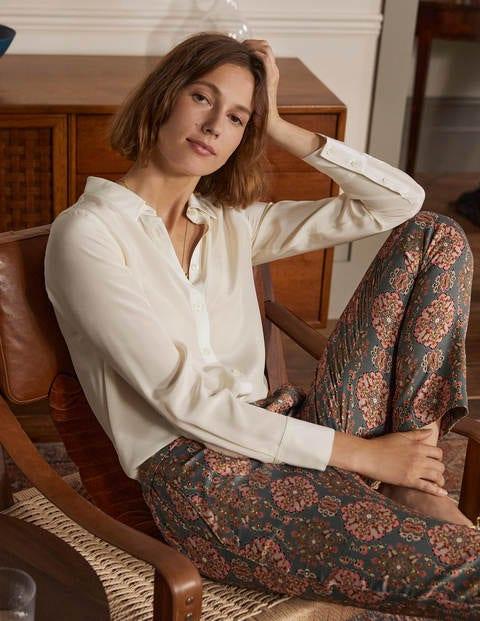 Silk Shirt - Ivory