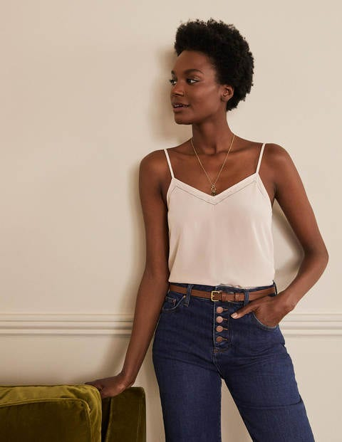 Silk Cami - Chalky Rose