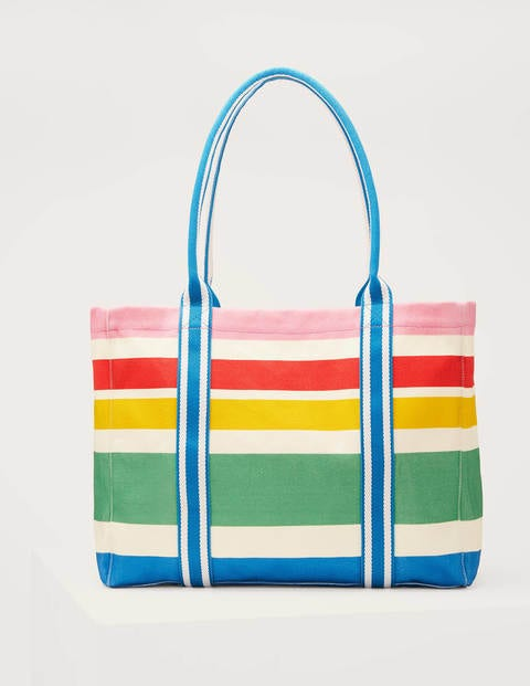 Olivia Large Canvas Tote