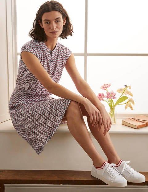 Einfaches Hemdblusenkleid aus Jersey NVY Damen Boden, NVY