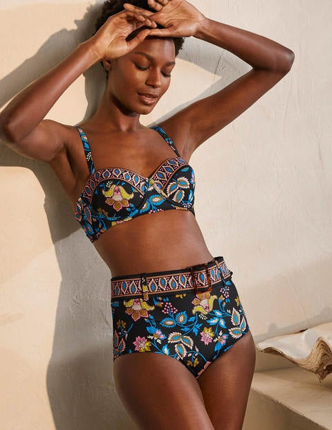 Kythira Belted Bikini Bottoms