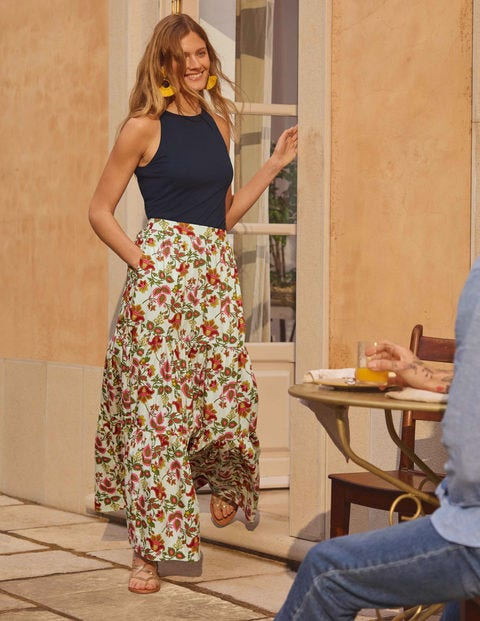 Lorna Tiered Maxi Skirt