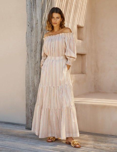 Lorna Tiered Maxi Skirt