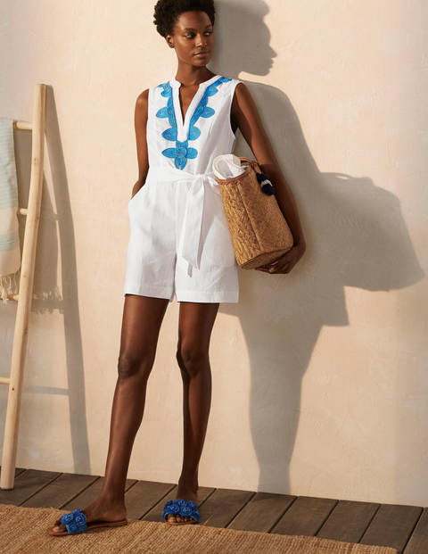 Bella Embroidered Playsuit