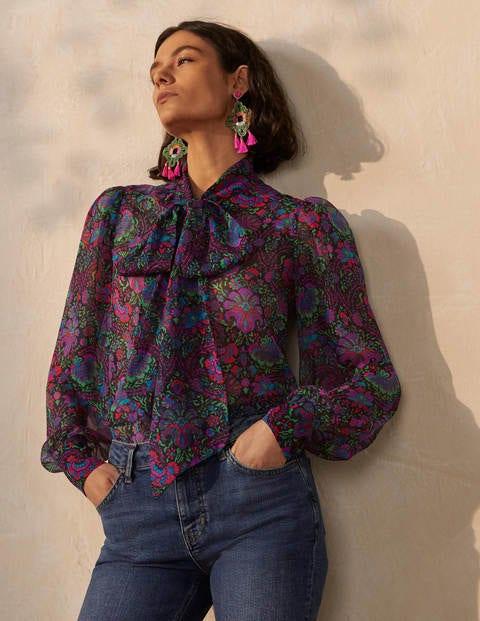Rosaline Silk Blouse