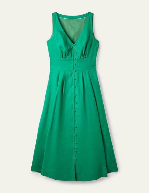 Jemima Linen Midi Dress