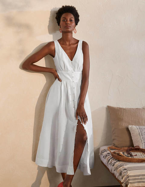 Jemima Linen Midi Dress